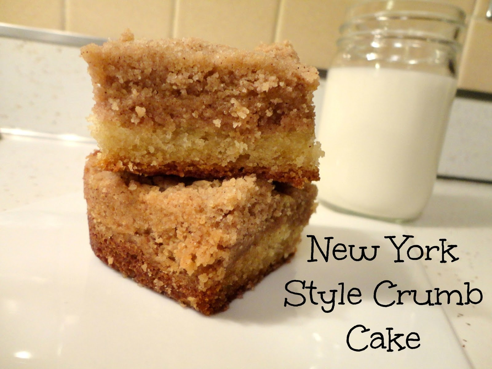New York-Style Crumb Cake - Rosie Discovers